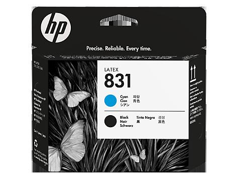 Testina HP 831 Ciano/Nero Latex