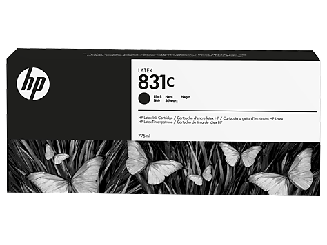 Cartuccia HP 831 Latex Nero da 775 ml