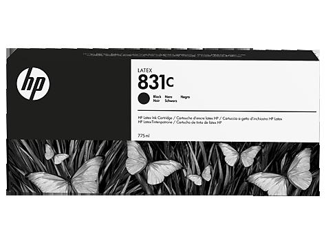 Cartuccia HP 831 Latex Nero da 775 ml