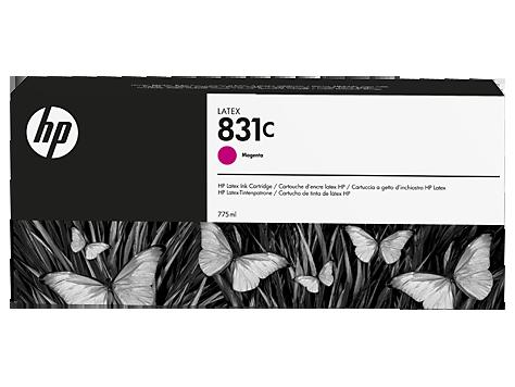 Cartuccia HP 831 Latex Magenta da 775 ml