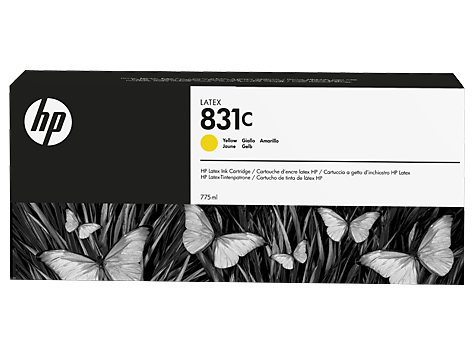 Cartuccia HP 831 Latex Giallo da 775 ml