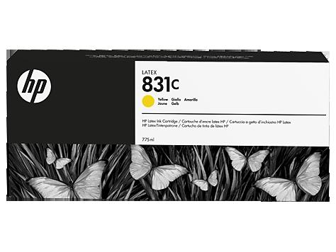 Cartuccia HP 831 Latex Giallo da 775 ml