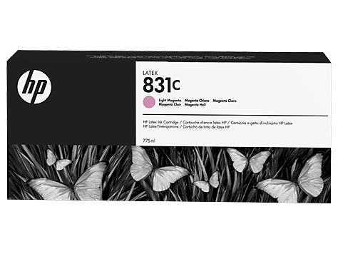 Cartuccia HP 831 Latex Light Magenta da 775 ml