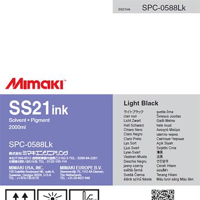 Sacca SS21 Mimaki 2 lt Light Black