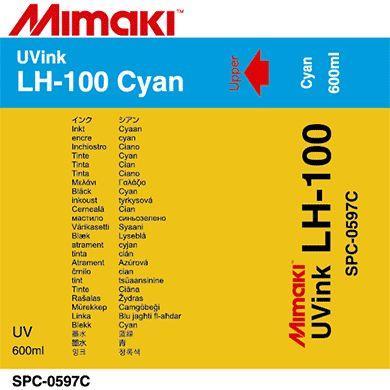 Sacca inchiostro Mimaki UV Led 600cc CIANO