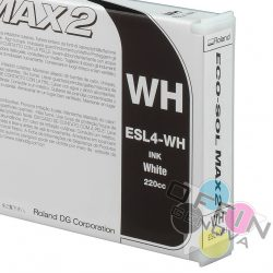 Roland DG - Ecosolvent max2 white
