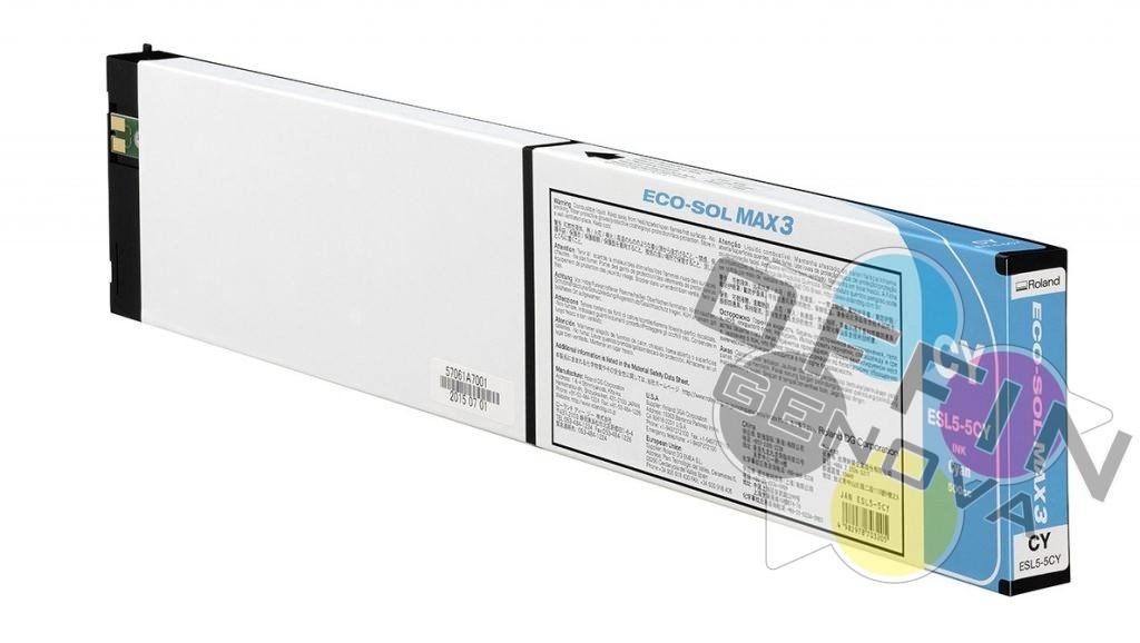 Roland Eco Sol Max3 – Ciano