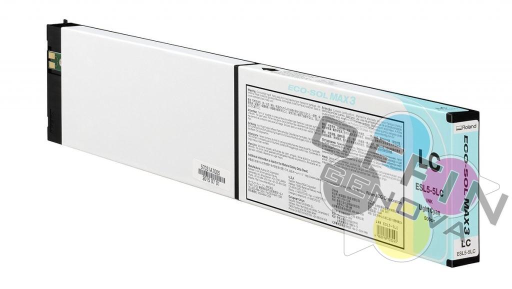 Roland Eco Sol Max3 – Ciano Chiaro (Light)